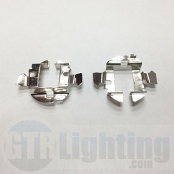 GTR Lighting Mercedes/Audi/BMW Metal H7 Bulbs Adapters