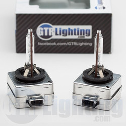 GTR Lighting D3S OEM Style Replacement HID Bulbs - Pair