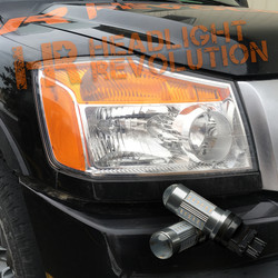 2003 - 2015 Nissan Titan LED Front Turn Signal Kit
