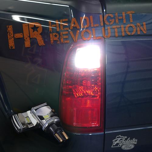 2016 Ford Super Duty Led Reverse Light Bulb Upgrade