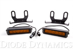 Diode Dynamics 2013+ Ram Standard Amber Wide LED Driving Light Kit