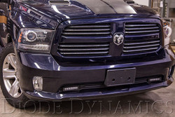 Diode Dynamics 2013+ Ram Sport/Express Wide LED Driving Light Kit