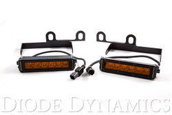 Diode Dynamics 2013+ Ram Sport/Express Amber LED Wide Driving Light Kit