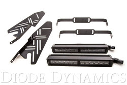 Diode Dynamics 2017+ Ford Raptor SS12 LED Fog Lightbar Kit
