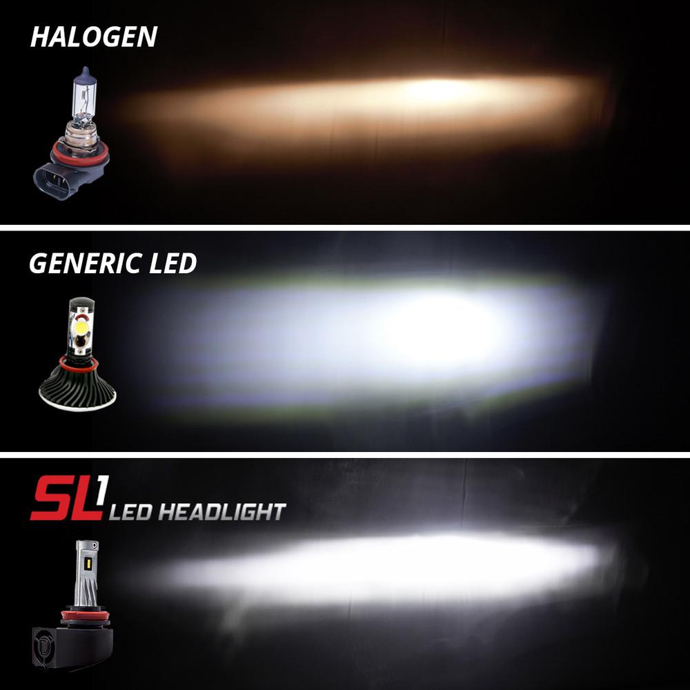 Diode dynamics 9006 sl1 led headlight pair headlight revolution diode dynamics nvjuhfo Gallery