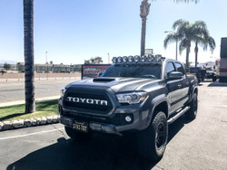 "KC HiLiTES GRAVITY® LED PRO6 LED LIGHT BAR - 50"" Toyota Tacoma 8-Ring"