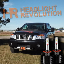 2003 - 2015 Nissan Titan LED Fog Light Bulbs - LVL 2