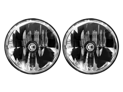 "KC HiLiTES  GRAVITY® LED 7"" HEADLIGHT DOT JEEP TJ 1997-2006/H4 PAIR PACK SYSTEM"