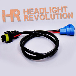 Headlight Revolution H11 into 9005 Wire Harness Adapters