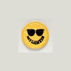"KC HiLiTES 6"" Vinyl Cover Yellow with Black KC Sunglasses"