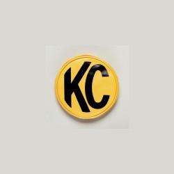"KC HiLiTES 8"" Vinyl Cover Yellow with Black KC Logo"