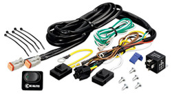 KC HiLiTES   WIRING HARNESS WITH 40 AMP RELAY AND LED ROCKER SWITCH