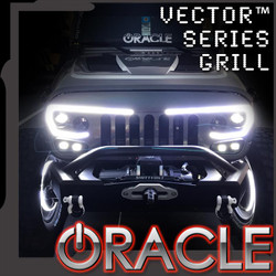 ORACLE LIGHTING VECTOR™ SERIES 2007-2017 FULL LED GRILL- JEEP WRANGLER JK