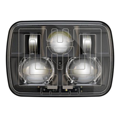 Jw Speaker 8910 Evolution 2 Dual Beam 5 Quot X 7 Quot Black