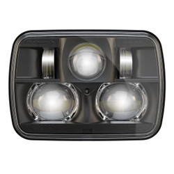 "JW Speaker 8900 Evolution 2 Dual Beam 5"" x 7"" Black Headlights"