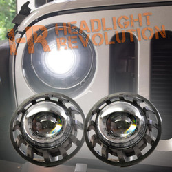 Morimoto 1996-2006 Wrangler Super7 Bi-LED Headlight Kit