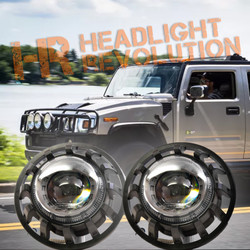 Morimoto 2002-2009 Hummer H2 Super7 Bi-LED Headlight Kit