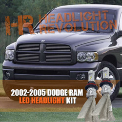 2002-2005 Dodge Ram Headlight LED Conversion Kit