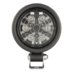 JW Speaker Model 670 XD - 12-24V LED Heated Work Light with Flood Beam Pattern