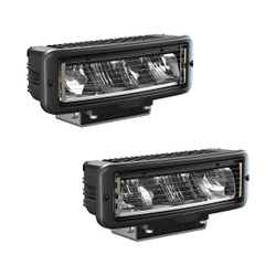 JW Speaker Model 9800 12V Or 24V Universal DOT LED Headlight Kit (HEATED)