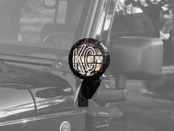 KC HiLiTES 2007-2018 JEEP JK WINDSHIELD SIDE MOUNT LIGHT BRACKET