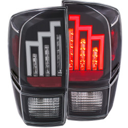 ANZO 2016-2017 TOYOTA TACOMA L.E.D. TAIL LIGHTS BLACK