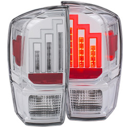 ANZO 2016-2017 TOYOTA TACOMA L.E.D. TAIL LIGHTS CHROME