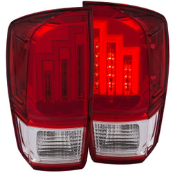 ANZO 2016-2017 TOYOTA TACOMA L.E.D. TAIL LIGHTS RED