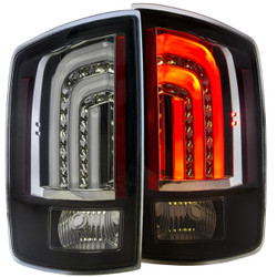 ANZO DODGE RAM 1500 06-08 / RAM 2500/3500 07-09 L.E.D TAIL LIGHTS BLACK G2