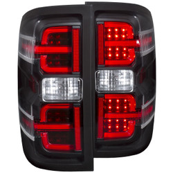 ANZO CHEVY SILVERADO/GMC L.E.D TAIL LIGHTS BLACK G2