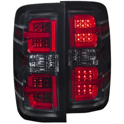 ANZO CHEVY SILVERADO/GMC L.E.D TAIL LIGHTS SMOKE G2