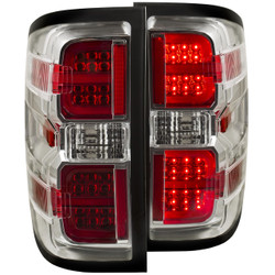ANZO CHEVY SILVERADO/GMC L.E.D TAIL LIGHTS CHROME G2