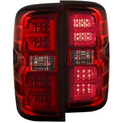 ANZO CHEVY SILVERADO/GMC L.E.D TAIL LIGHTS RED G2