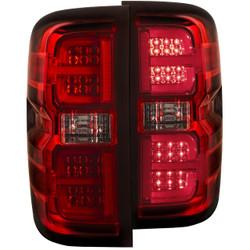ANZO CHEVY SILVERADO/GMC L.E.D TAIL LIGHTS RED G2