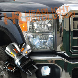 2008-2016 Ford Super Duty LED Front Turn Signal Kit