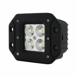 """UNITED PACIFIC 36535 - 4 High Power LED """"X2"""" Light - Flush Mount - Flood Light"""