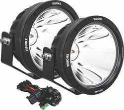 Vision X 8.7″ CG2 SINGLE-LED LIGHT CANNON - Two Light Kit