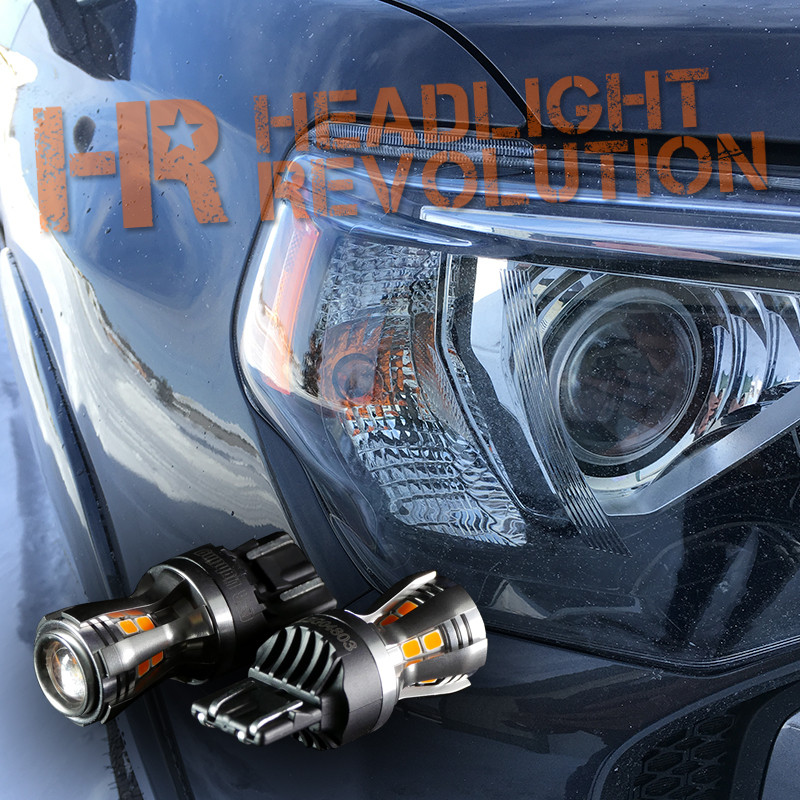 2014 - 2018 Toyota 4Runner Front Turn Signals LED Upgrade Kit ...