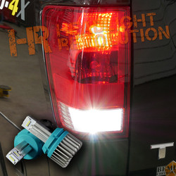 2003 - 2018 Nissan Titan LED Reverse Light Bulb Upgrade - 1000 Lumen