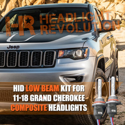 2011 - 2018 Jeep Grand Cherokee HID Low Beam Conversion Kit