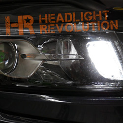 2011   2018 Jeep Grand Cherokee LED Front Turn Signal Conversion Kit