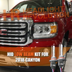 2015 - 2018 GMC Canyon / Canyon Denali Low Beam HID Headlight Conversion Kit