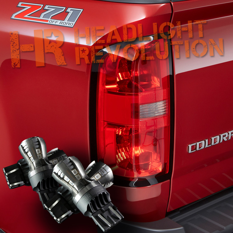 2015 - 2018 Chevy Colorado LED Rear Tail Light, Brake Light, and ...