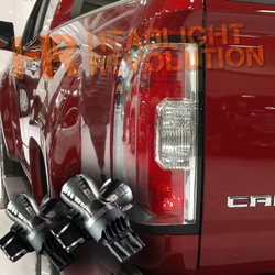 2015 - 2018 GMC Canyon / Canyon Denali LED Rear Tail Light, Brake Light, and Turn Signals Upgrade Kit
