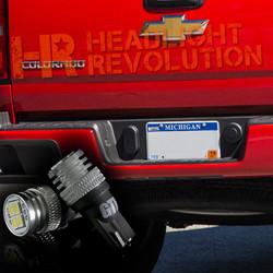 Carbide T10 License Plate Bulbs from GTR Lighting