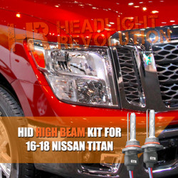 2016 - 2018 Nissan Titan High Beam HID Conversion Kit