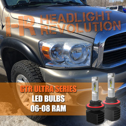 2006 - 2008 Ram LED Headlight Upgrade Kit