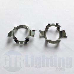 GTR Lighting Mercedes/Audi/BMW Metal H7 LED Bulbs Adapters