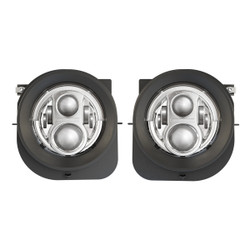 2015 -2017 Jeep Renegade Model 8700 Evolution 2R Chrome LED Headlights