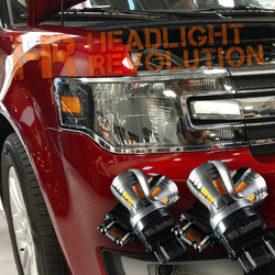 2009 - 2018 Ford Flex Front Turn Signal's LED Upgrade Kit